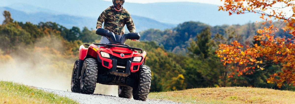 ATV riding accessible directly from the property